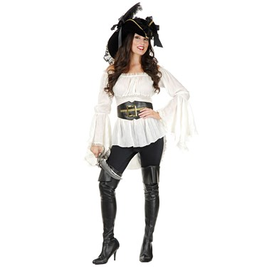 Women's Pirate Lady Vixen Blouse Costume