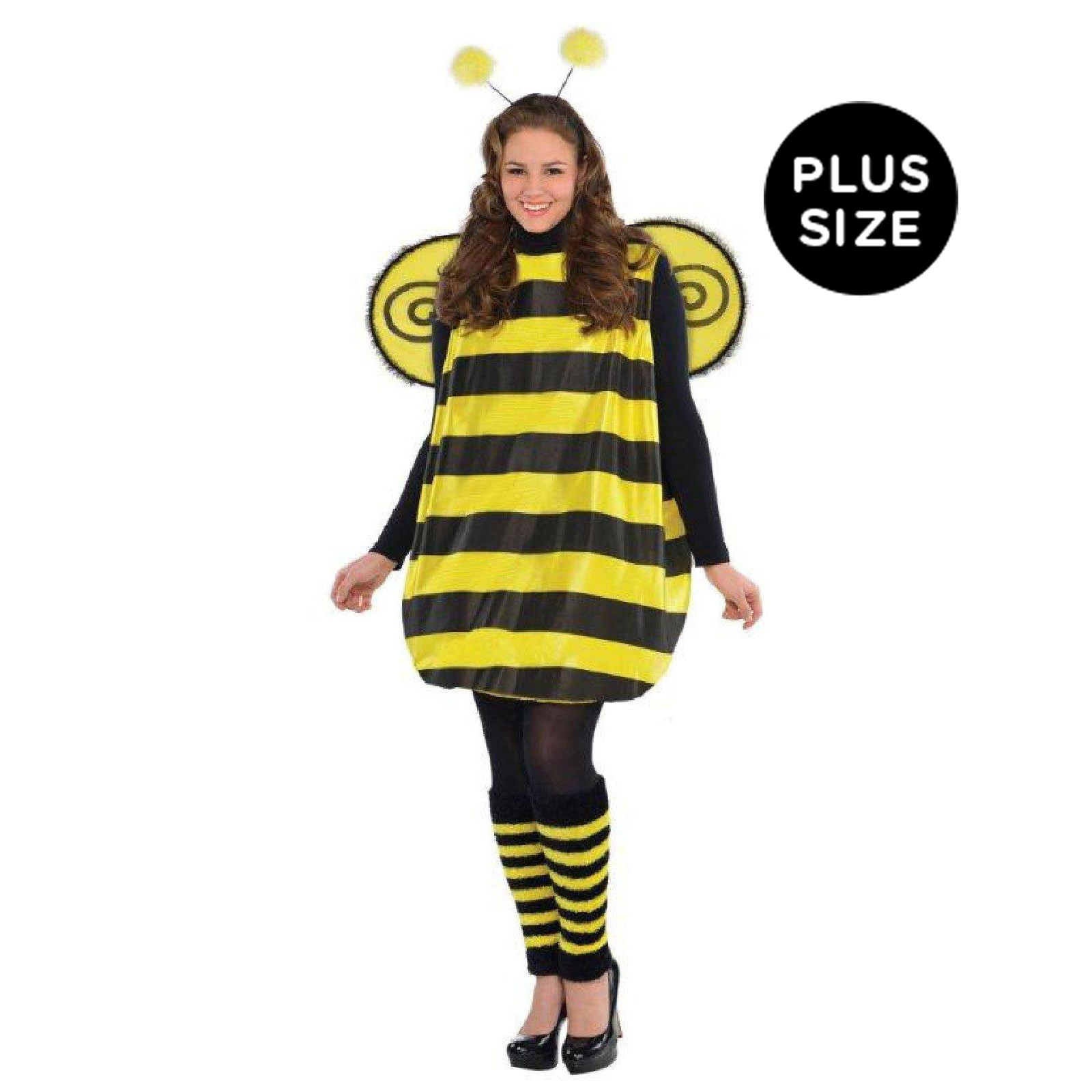 Womens Plus Size Darling Bee Costume