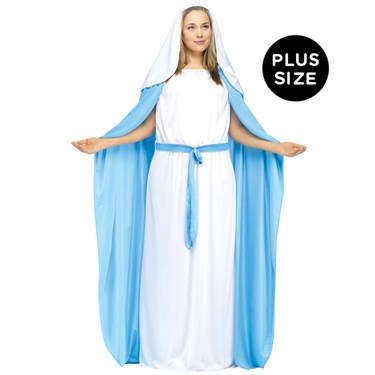 Womens Plus Size Mary Costume