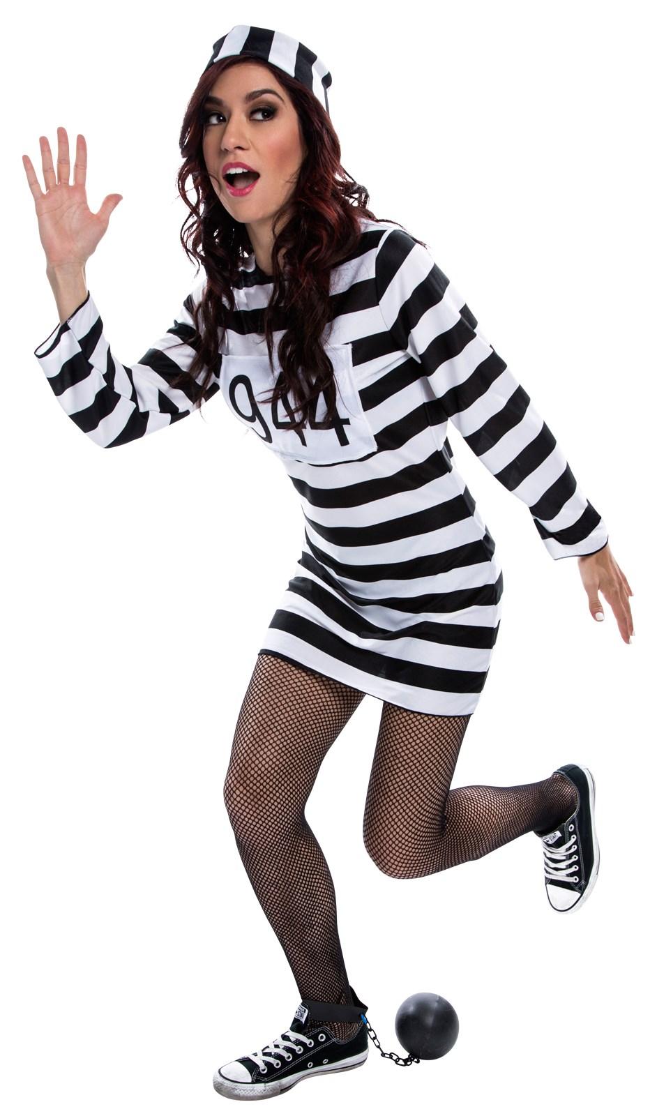 Womens Prisoner Dress Costume