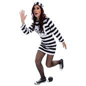 Womens Prisoner Dress Costume