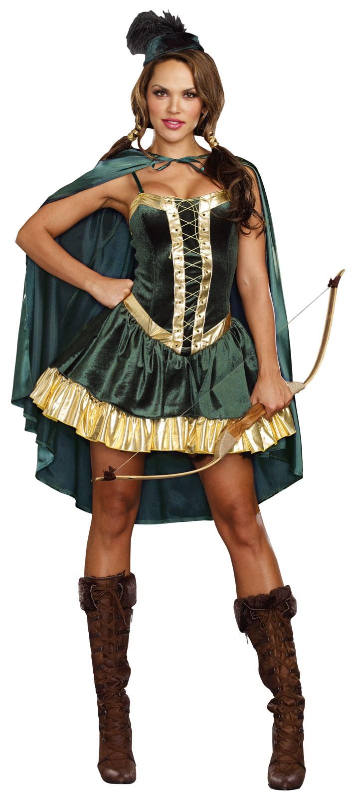 Womens Robin Hood Costume | BuyCostumes.com