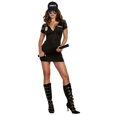 Womens S.W.A.T. Police Costume