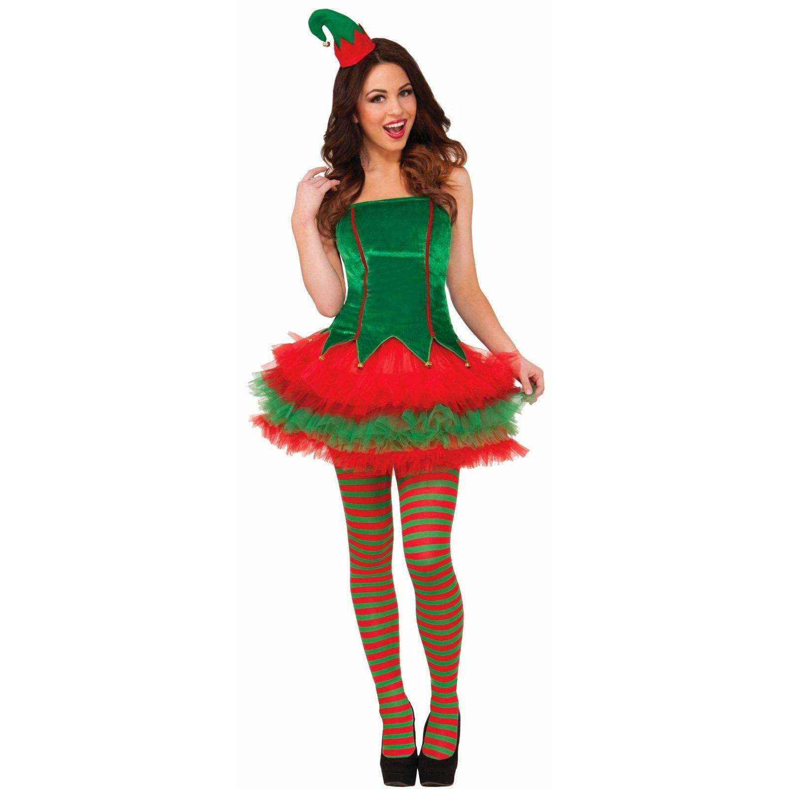 Womens Sassy Elf Costume