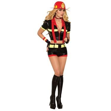 Womens Sexy Red Hot Mama Costume