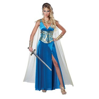 Women's Sexy Warrior Queen Costume