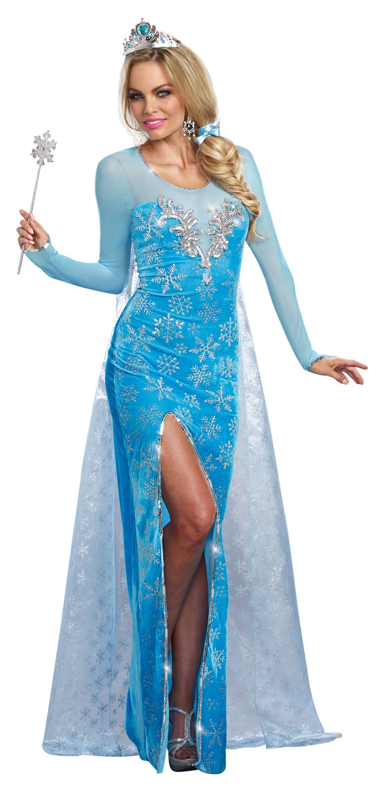 Womens The Ice Queen Costume
