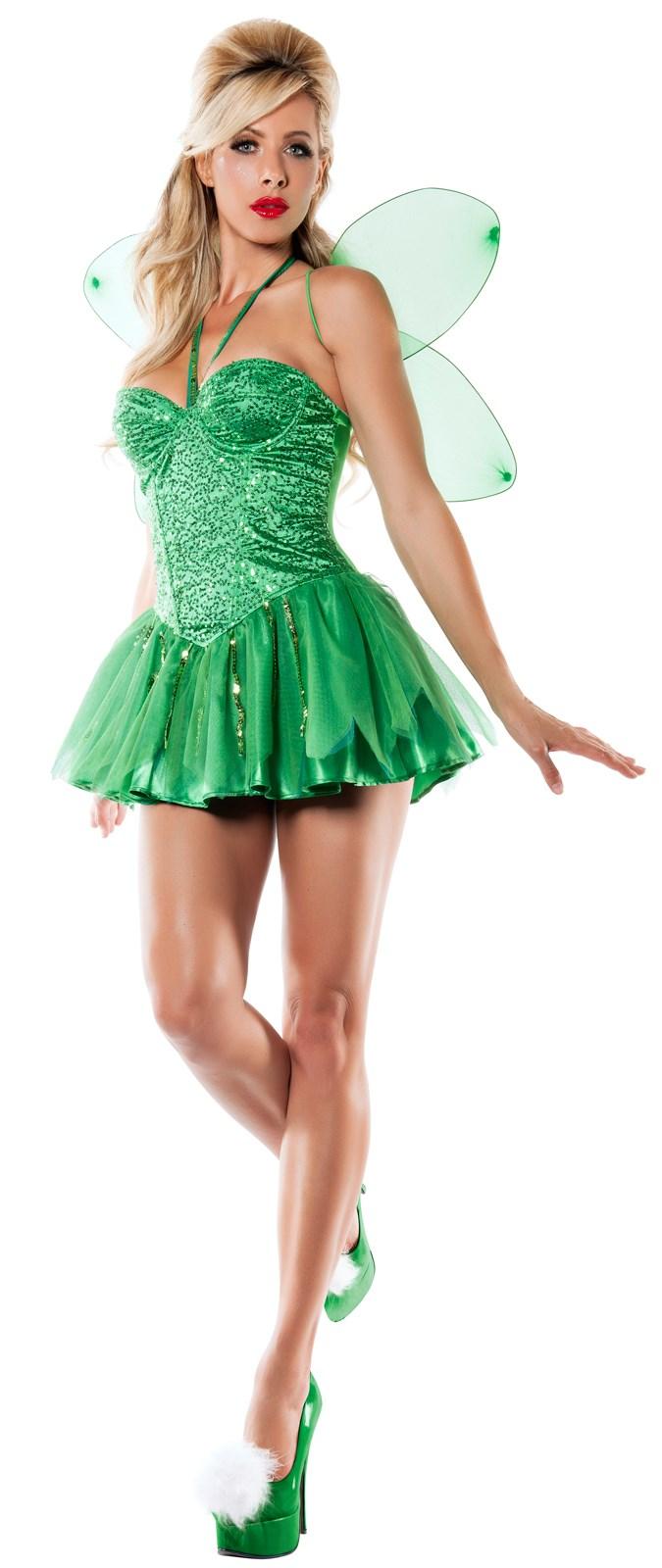 Womens Tinkerbell Fairy Costume