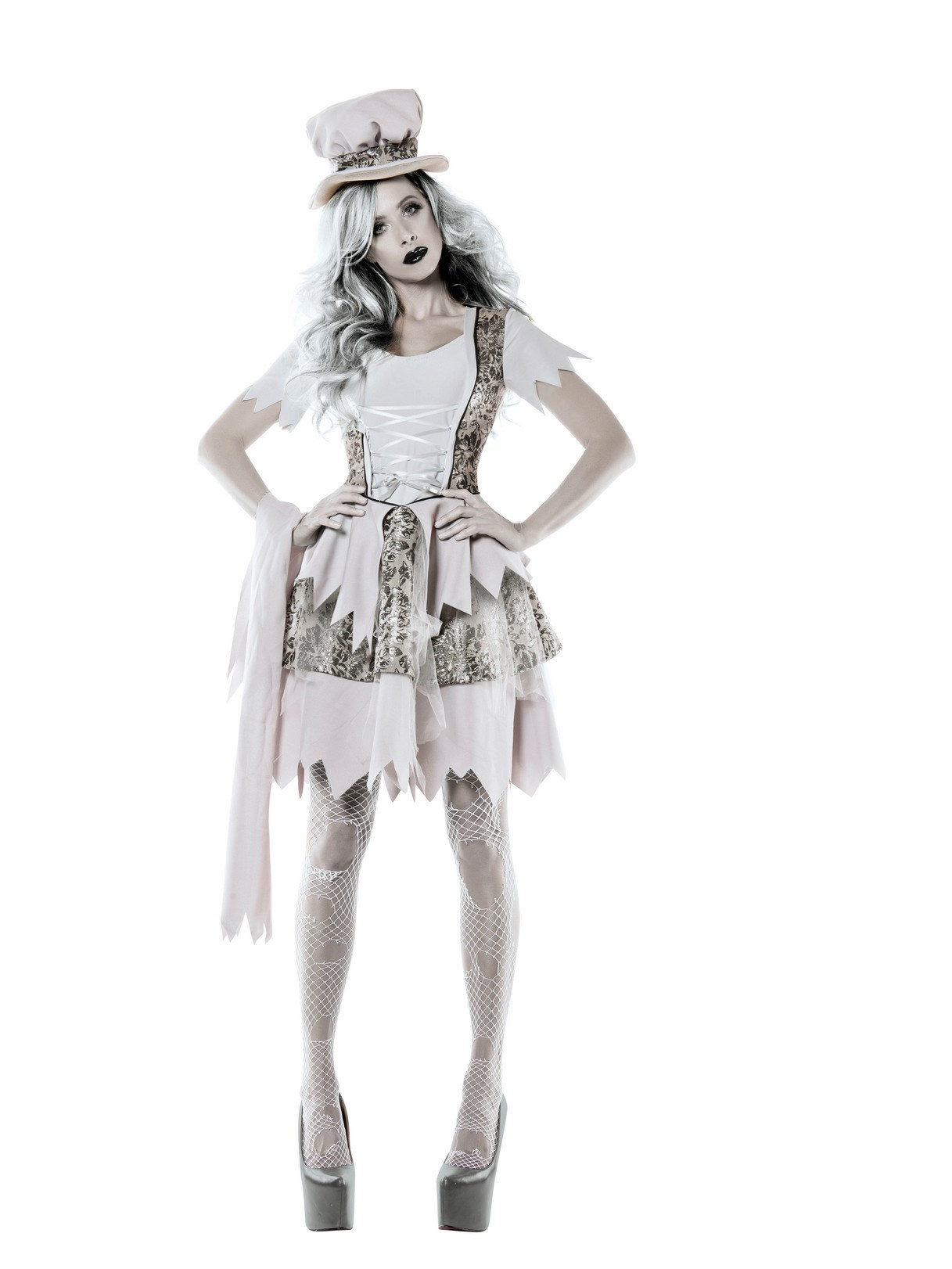 Womens Victorian Ghost Lady Costume