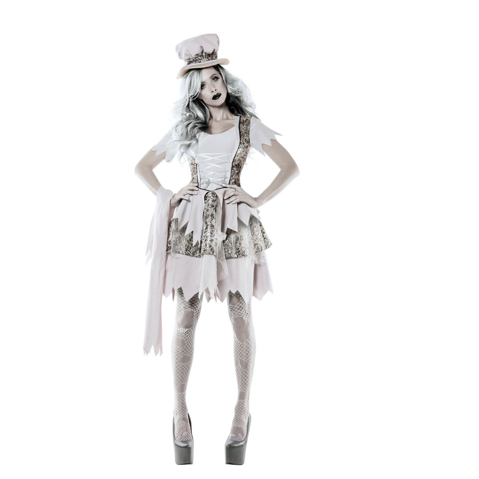 Womens Victorian Ghost Lady Costume | BuyCostumes.com