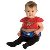 Wonder Woman Bib Newborn Costume