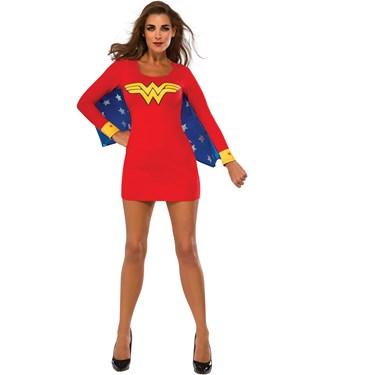 Wonder Woman Cape Dress Adult Costume