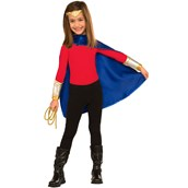 Wonder Woman Deluxe Dress Up Set Child One Size