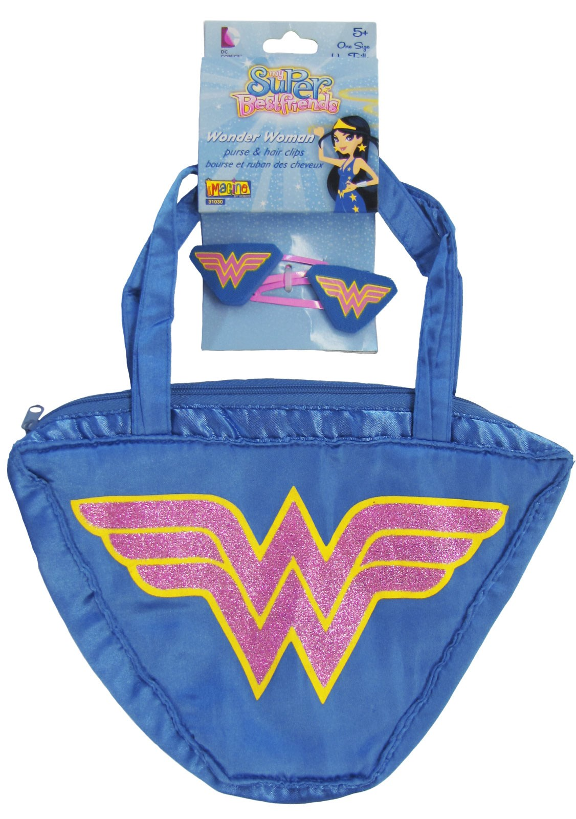 Wonder Woman - Hair Clips & Purse Set