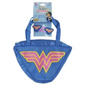Wonder Woman - Hair Clips & Purse Set