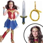 Wonder Woman Movie Deluxe Children's Costume Kit