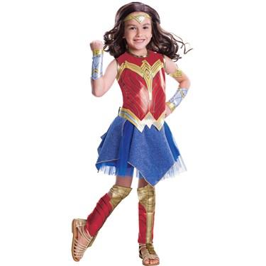 Wonder Woman Movie - Wonder Woman Deluxe Children's Costume