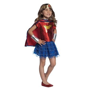 Wonder Woman Tutu Dress