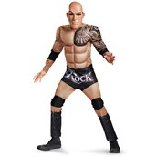 Wwe The Rock Boys Classic Muscle Chest Costume