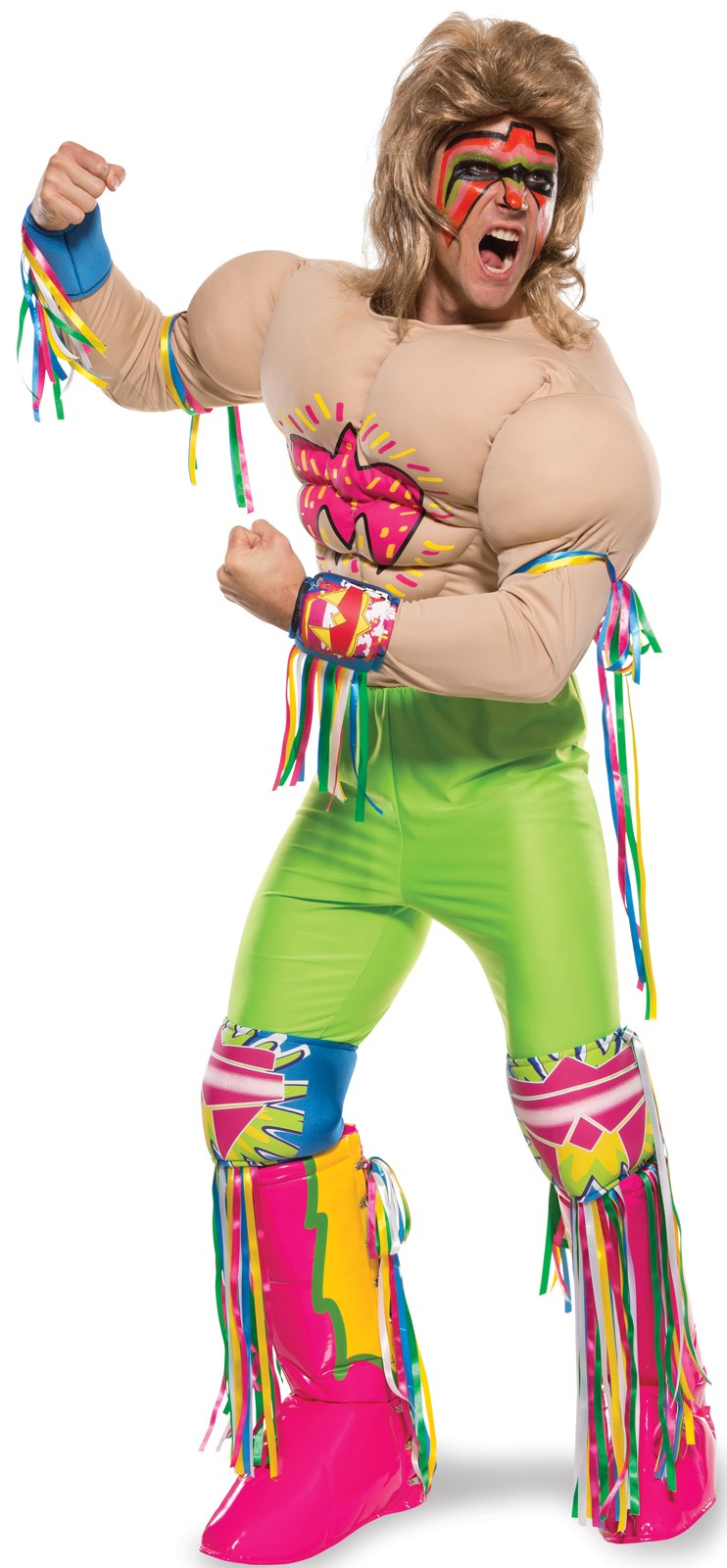 WWE Ultimate Warrior Adult Grand Heritage Costume