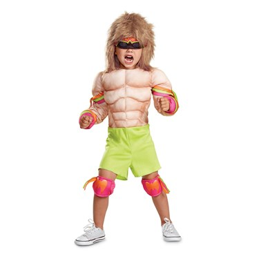 WWE  Ultimate Warrior Toddler Muscle Costume
