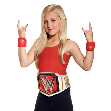 WWE Womens Champion Child Costume Kit