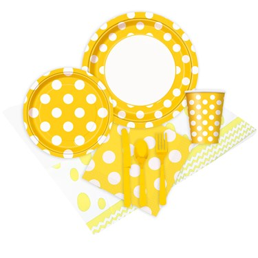 Yellow and White Dots Event Pack