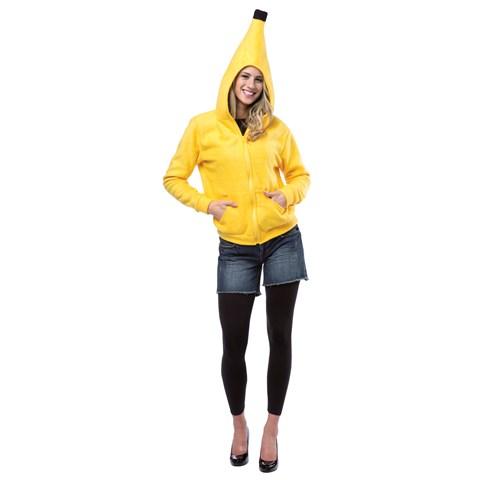 Yellow Banana Hoodie