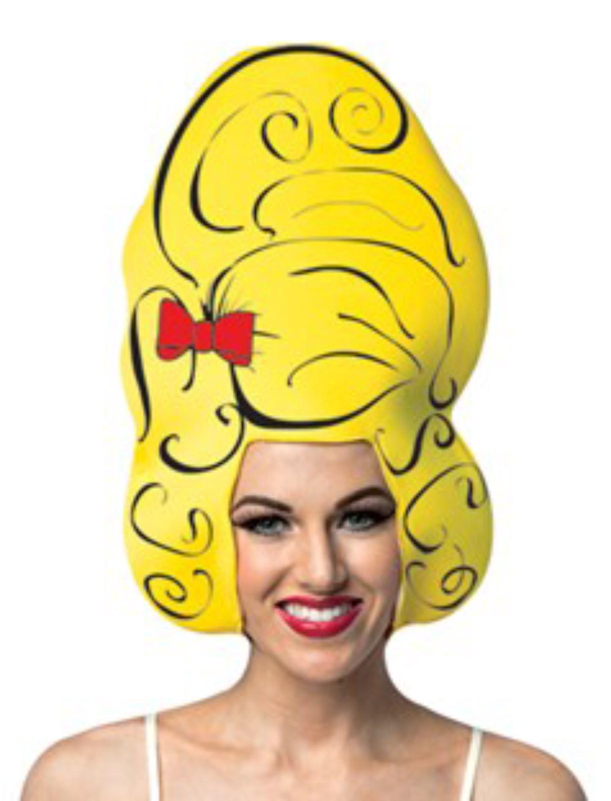 Yellow Beehive Wig 103