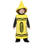 Yellow Crayola Crayon Toddler Costume