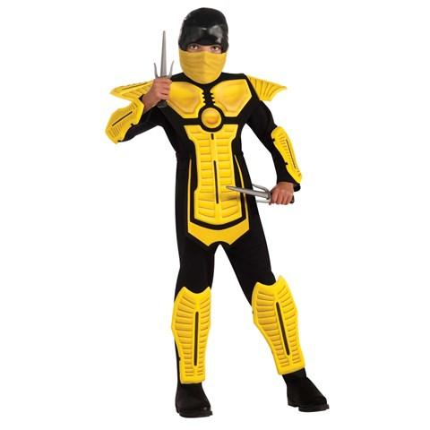 Yellow Ninja Child Costume