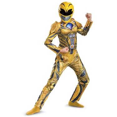 Yellow Ranger Movie 2017 Deluxe Child Costume