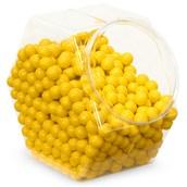 Yellow Sixlets Candy