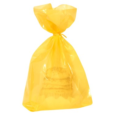 Yellow Treat Bags (20 count)