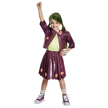 Z-O-M-B-I-E-S  Zoey Cheerleading Outfit Classic Toddler Costume