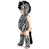 Zaney Zebra Infant Costume