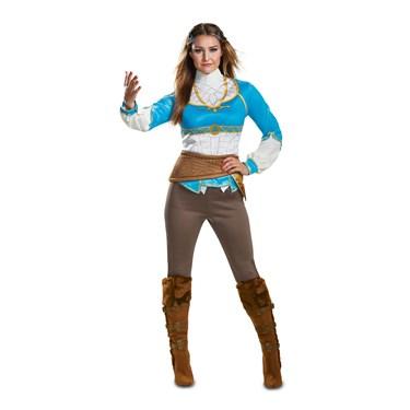 Zelda Breath Of The Wild Women's Costume