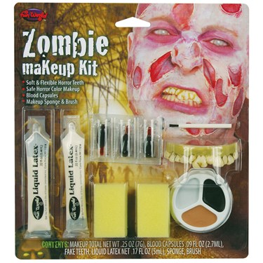Zombie Boy Character Makeup Kit