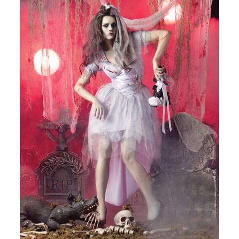 Zombie Bride Adult Costume