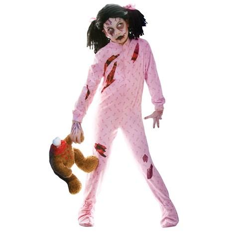Zombie Girl Child Costume