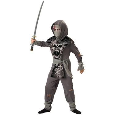 Zombie Ninja Child Costume