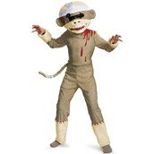 Zombie Sock Monkey Child Costume