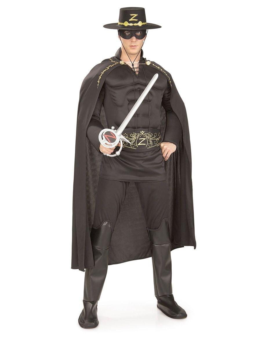 Zorro Deluxe Adult Costume Buycostumes Com