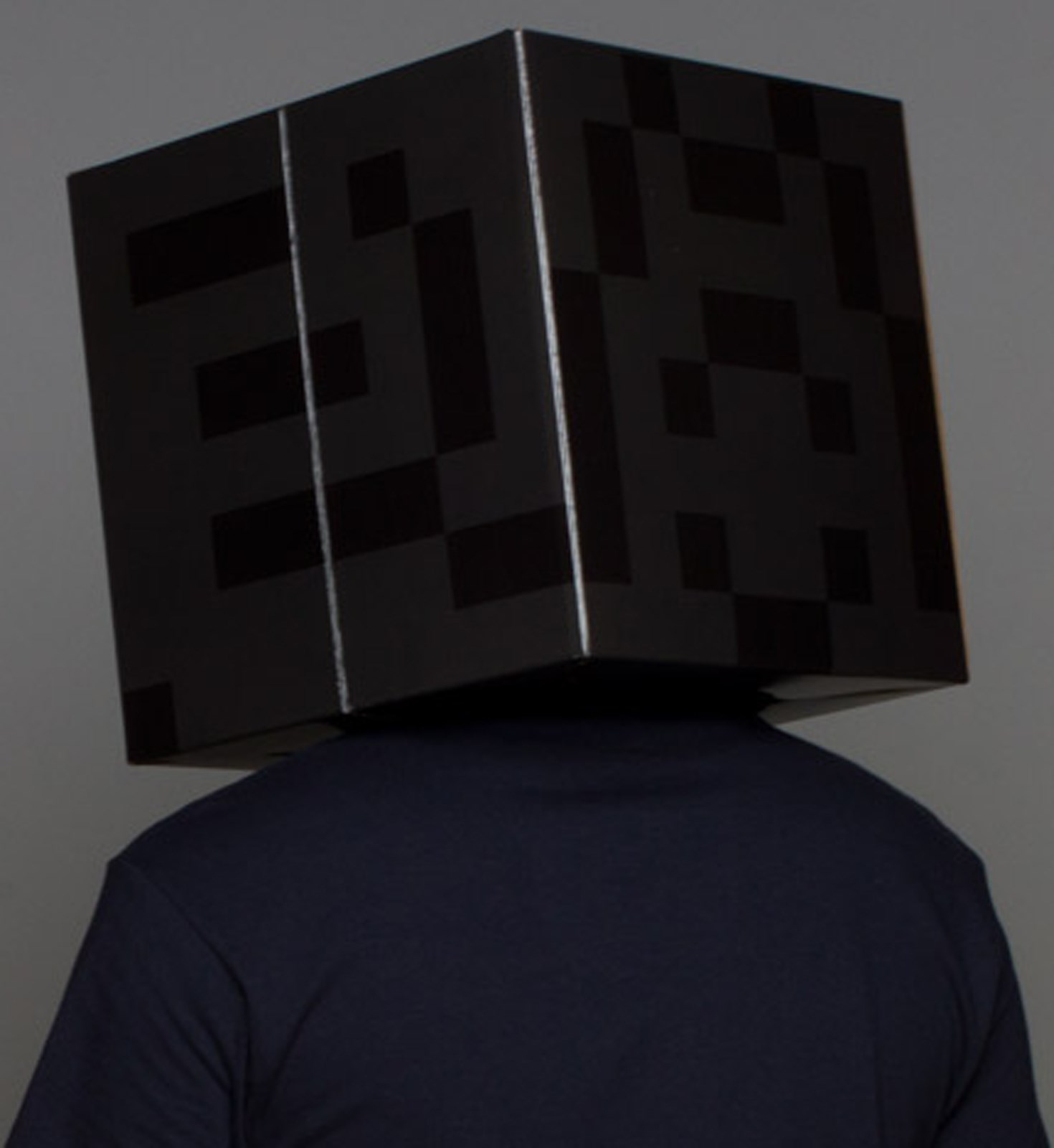 Minecraft Enderman Head Costume