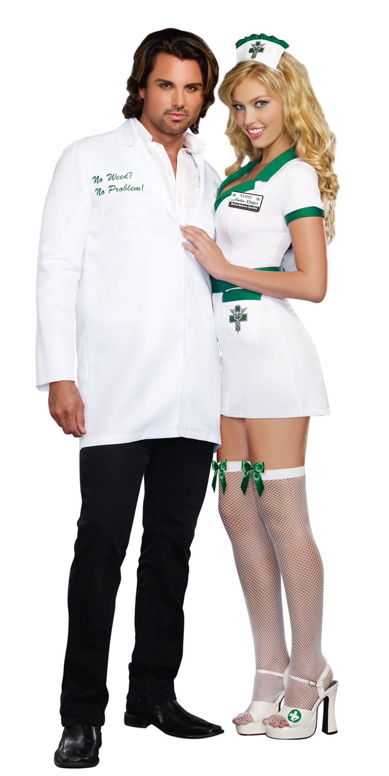 Nurse Anita Reefer Adult Costume | BuyCostumes.com