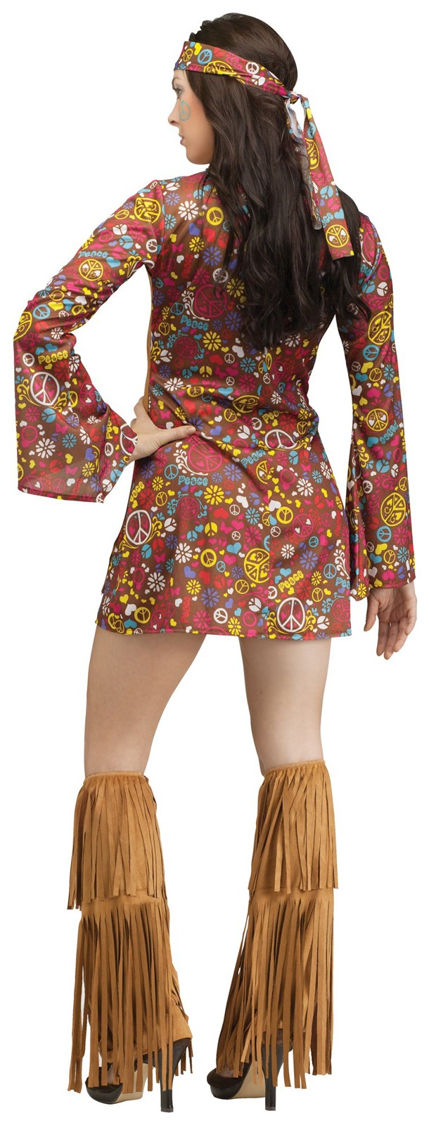 Peace And Love Hippie Costume For Adults Buycostumes Com