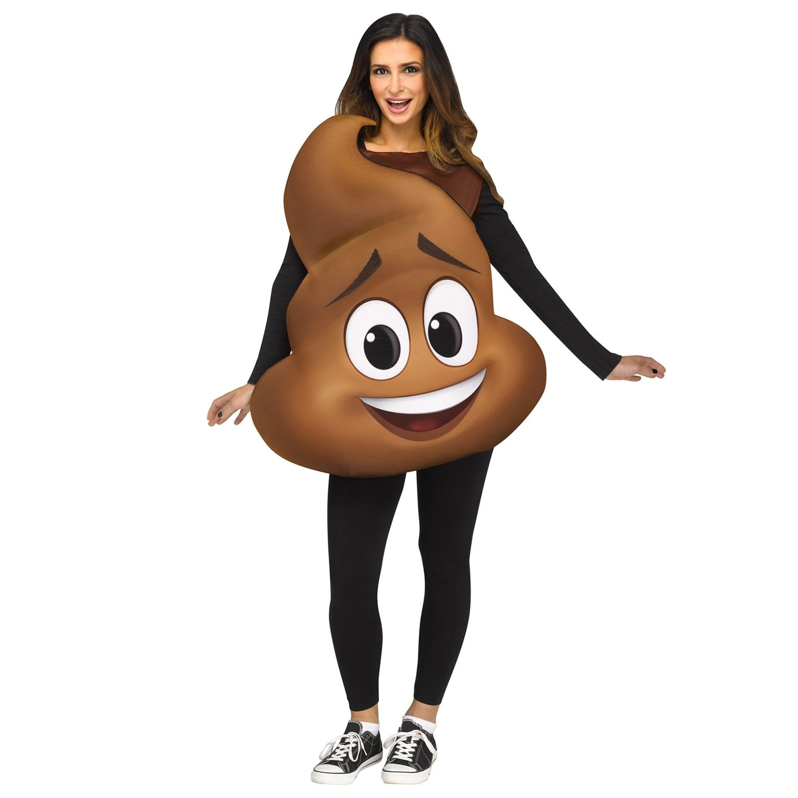 Spirit Halloween: Adult Poop Emoji Inflatable Costume Only ...