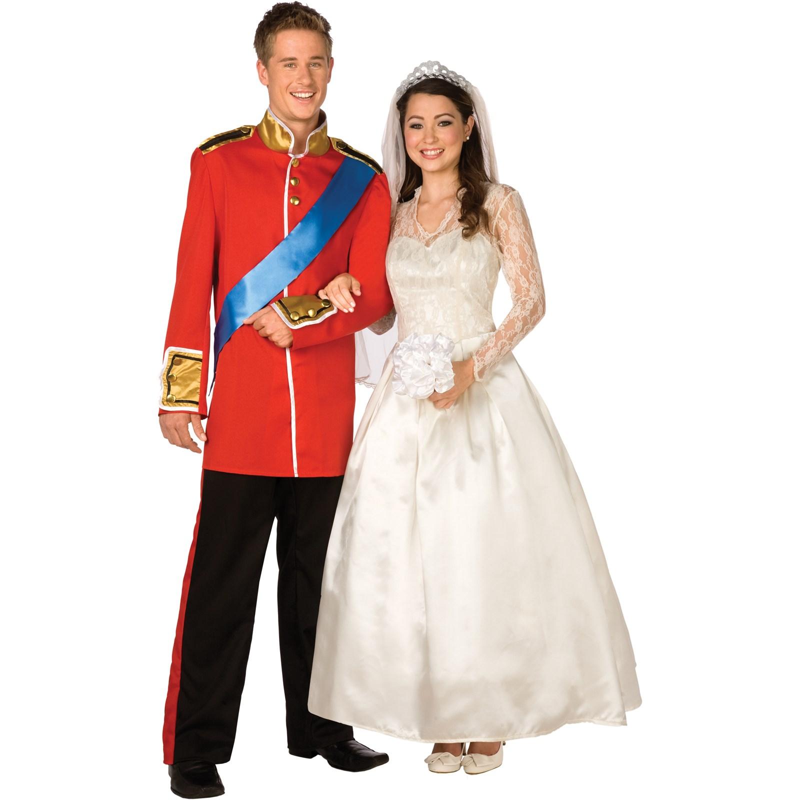 Royal Wedding Uniform Adult Costume