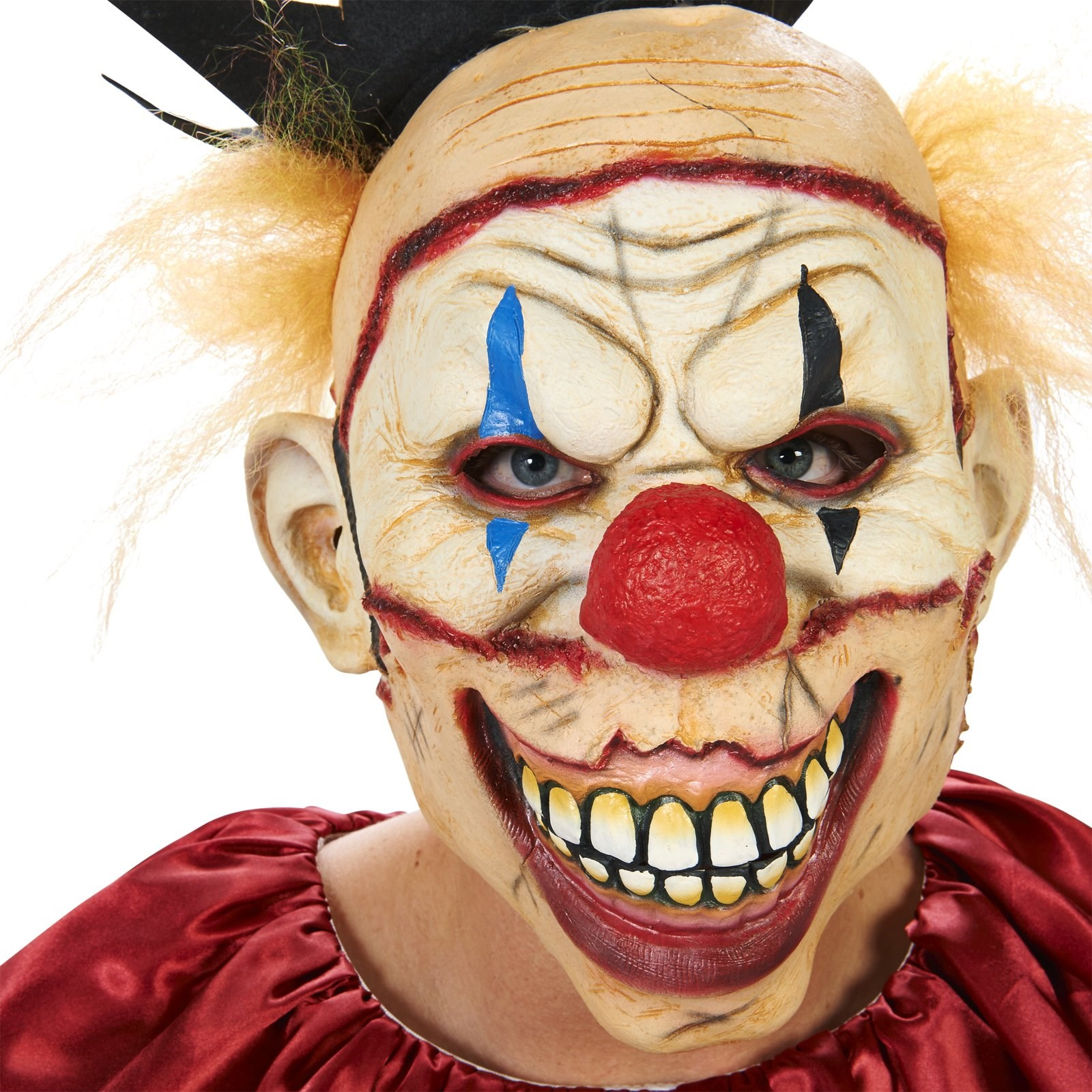 Scary the Carnival Clown with Mask Adult Costume | BuyCostumes.com