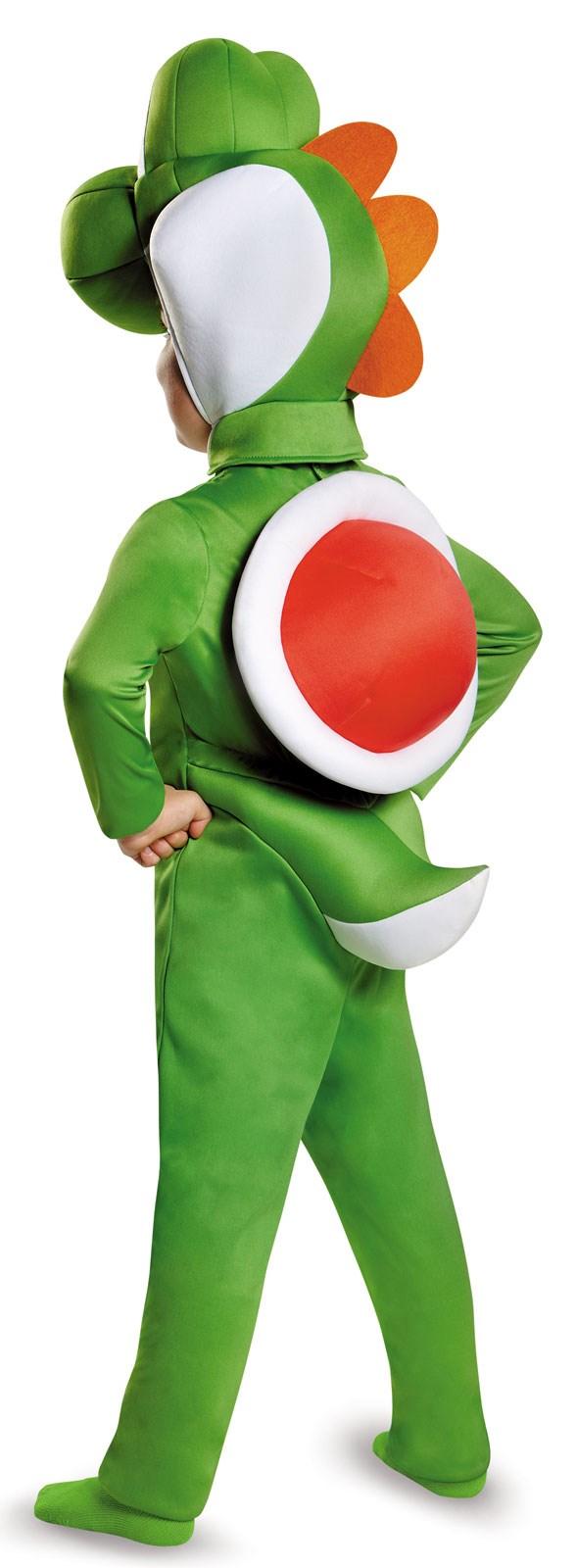Super Mario Bros: Yoshi Costume For Toddlers | BuyCostumes.com